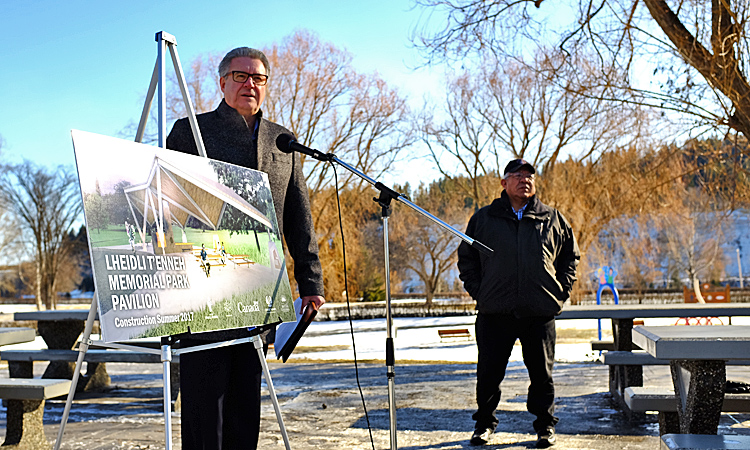 Government of Canada Invests $377,000 in Improvements to Prince George's Premier Park