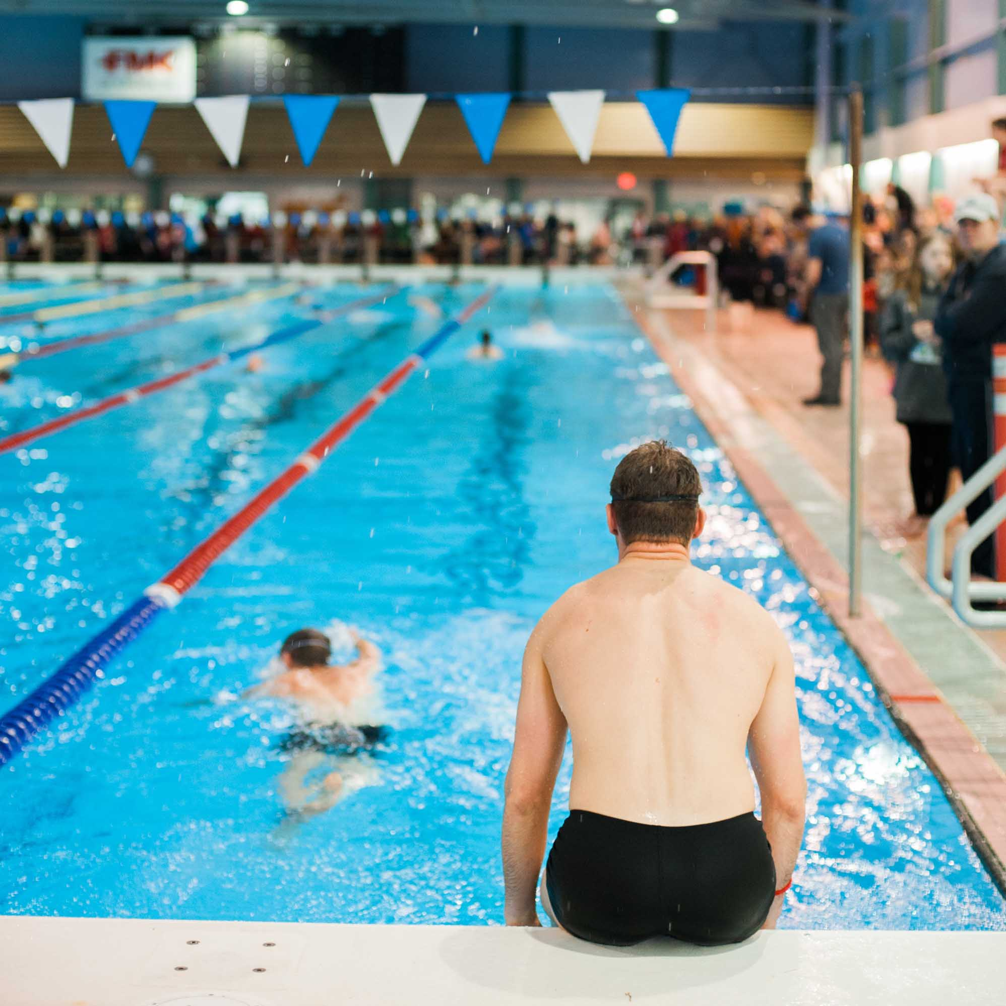 The PG Iceman swimming competition will take place at the Aquatic Centre on Sunday, Feb. 10.