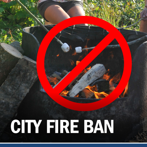 City issuing fire ban