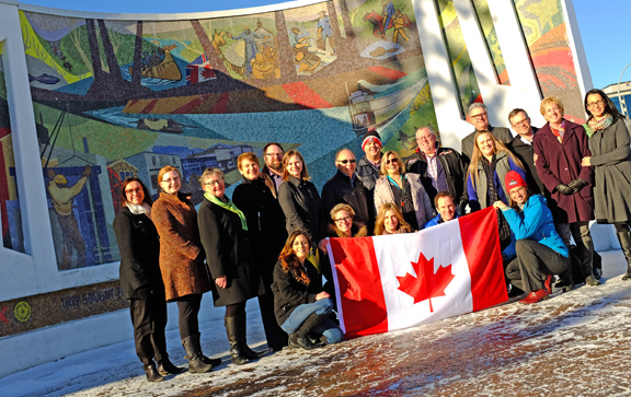 City partners with community foundations to support Canada 150 events