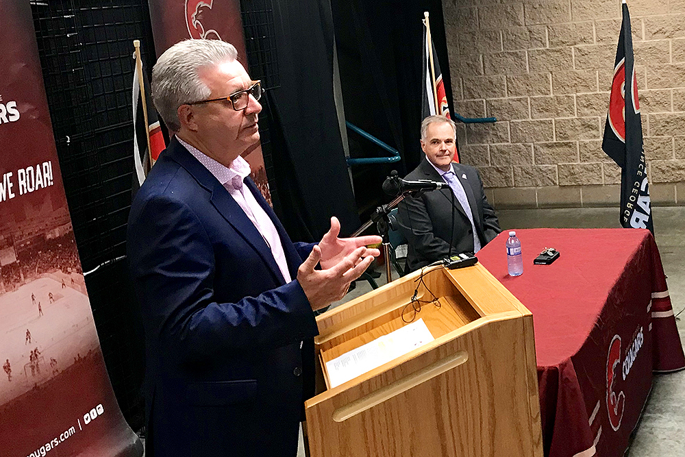 City and Prince George Cougars renew CN Centre rental agreement